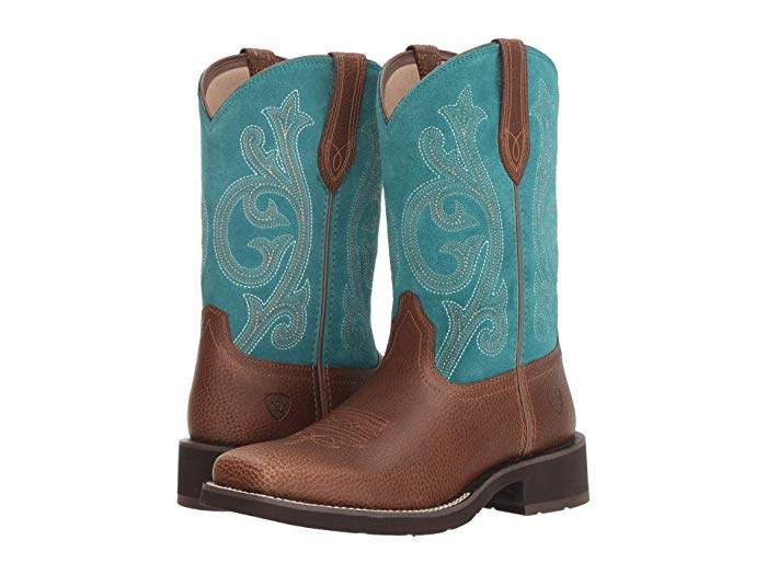 f7cfaf161c2 Ariat Prim Rose in 2019 | Products | Turquoise cowboy boots, Shoe ...