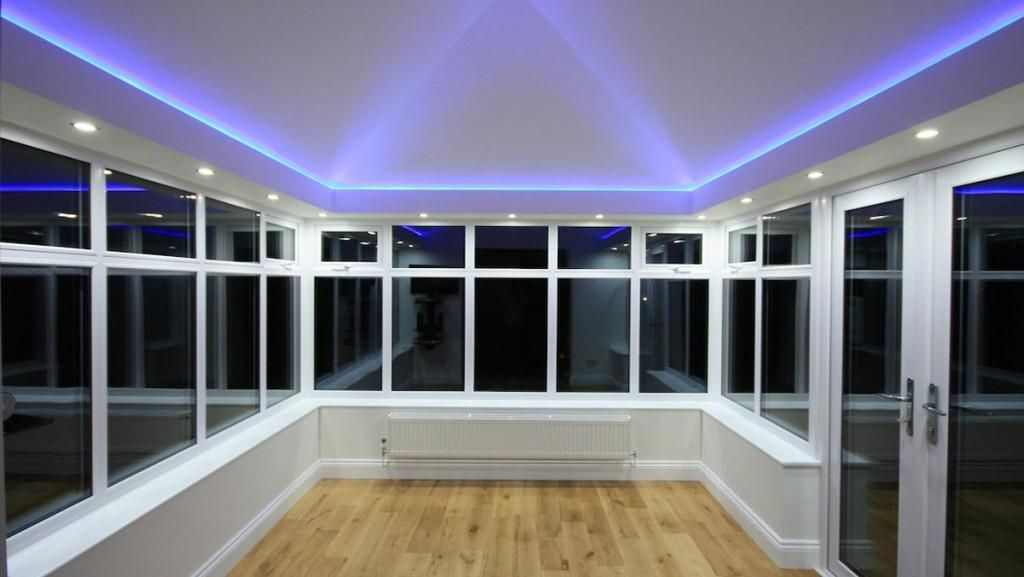 Conservatory Lighting Ideas For Your Home The Home Builders Conservatory Lighting Conservatory Roof Conservatory Interiors