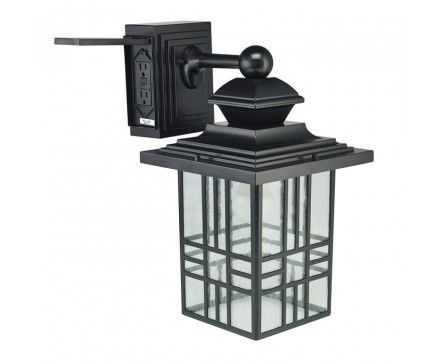 We Like This Outdoor Porch Light Style And The Fact It Has An Gfci