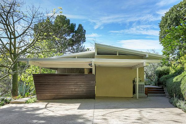 Mid Century Modern Home Sale Cool Houses Pinterest