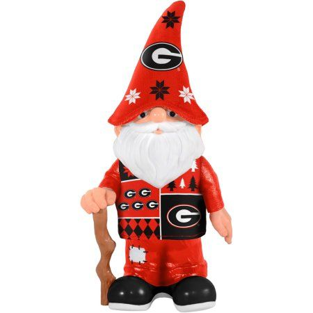 Forever Collectibles Ncaa Real Ugly Sweater Gnome, University of Georgia Bulldogs, Multicolor
