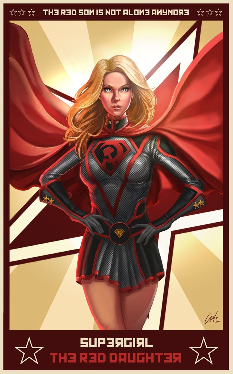 Supergirl The Red Daughter by Toni Justamante Jacobs | Red