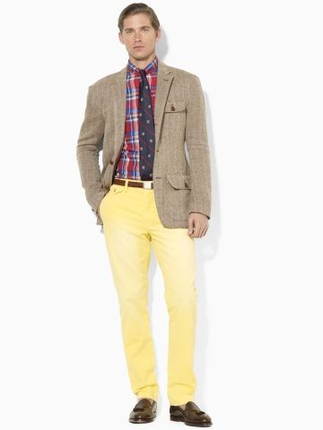 25106bf2 Slim-Fit Sun-Faded Chino Pant - Polo Ralph Lauren Chinos ...