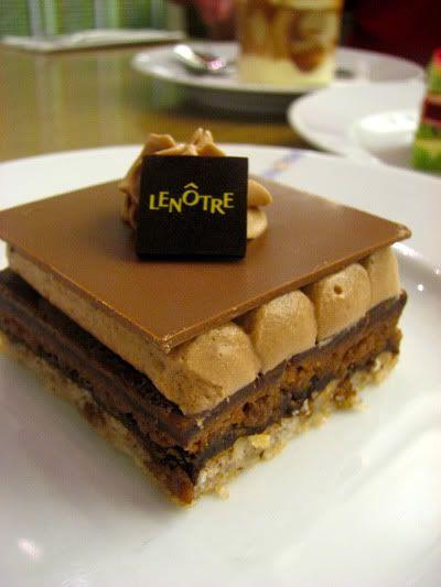 Chocolate and hazelnut - no complaints here!