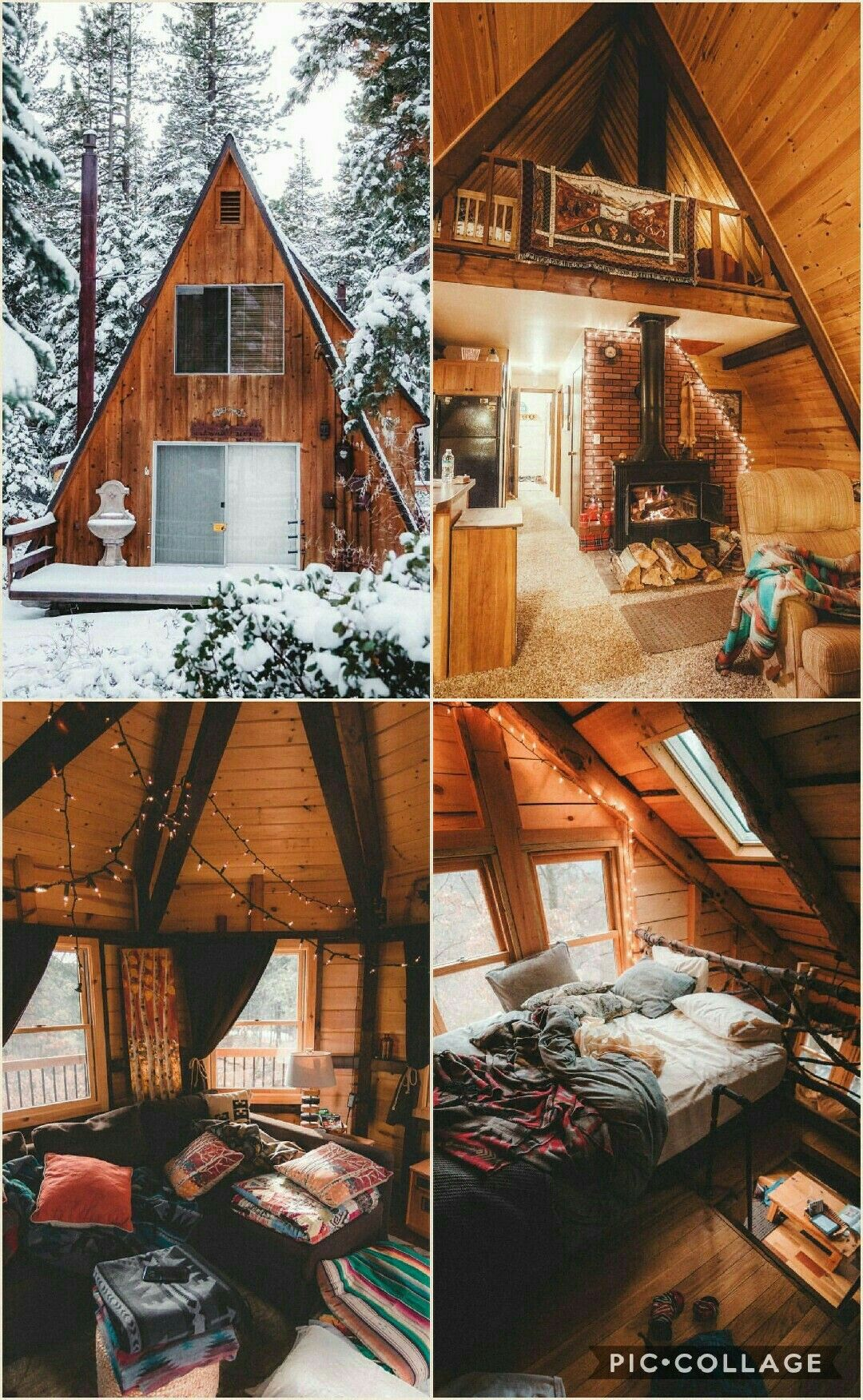 we'd probably have to hunt deer and collect berries for food...but i would love to live like this
