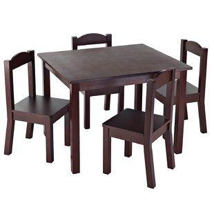 kids table chair sets you ll love wayfair ca toddler rh pinterest com