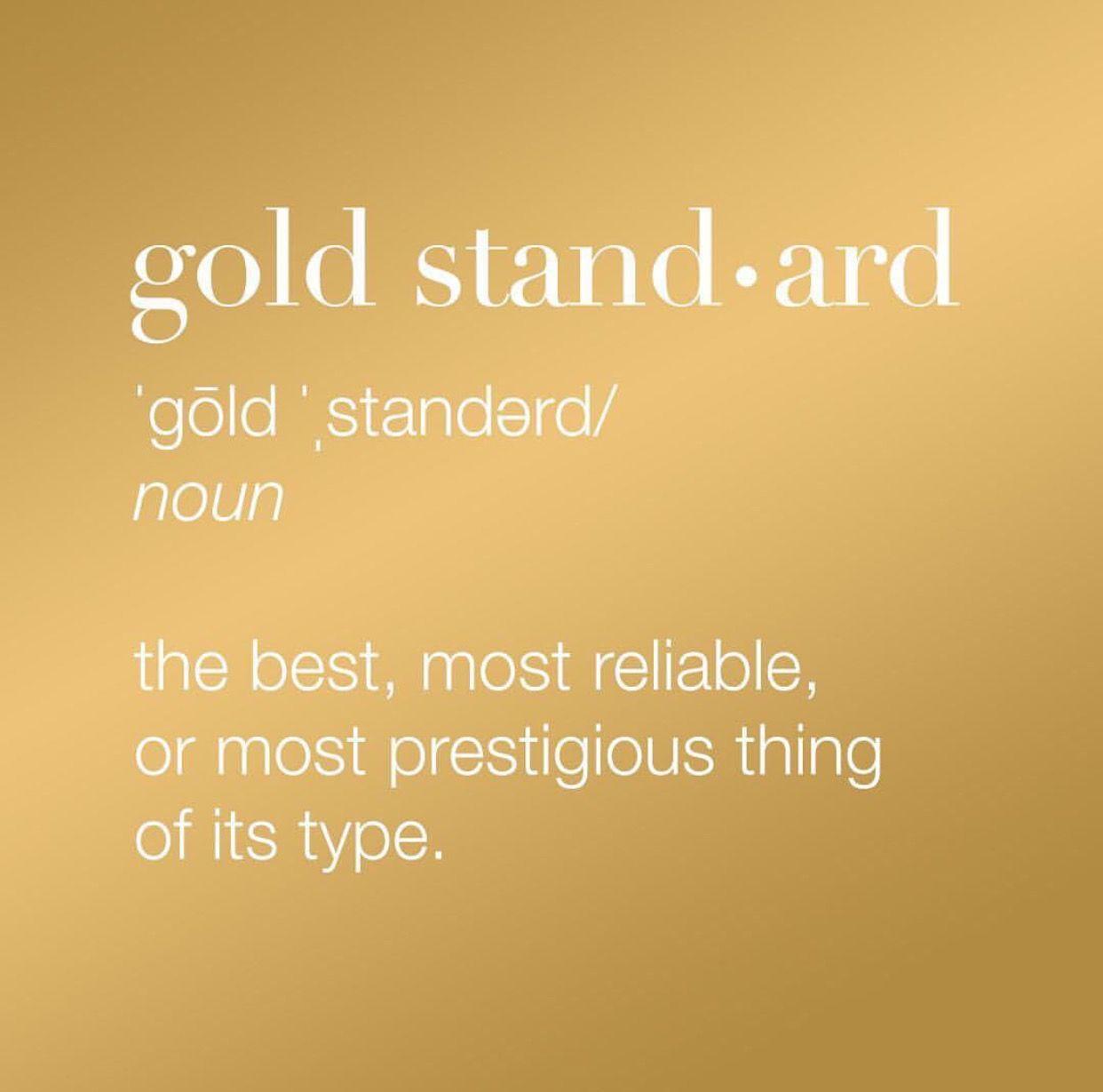 Image result for gold standard care