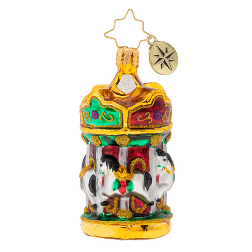 Christmas Ornament Christopher Radko Rollicking Round About
