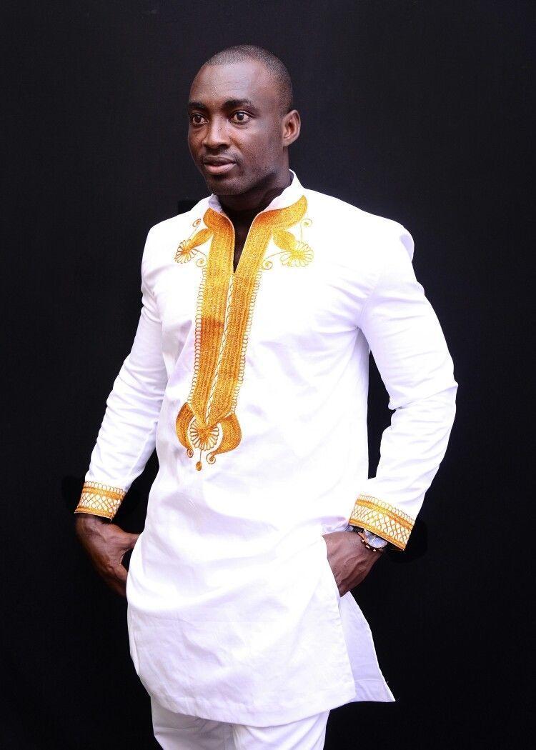 African men clothing, groom's suit, dashiki shirt