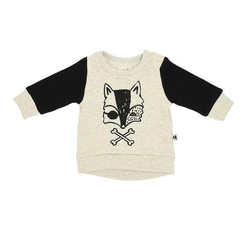 Baby Jumper - Pirate Fox