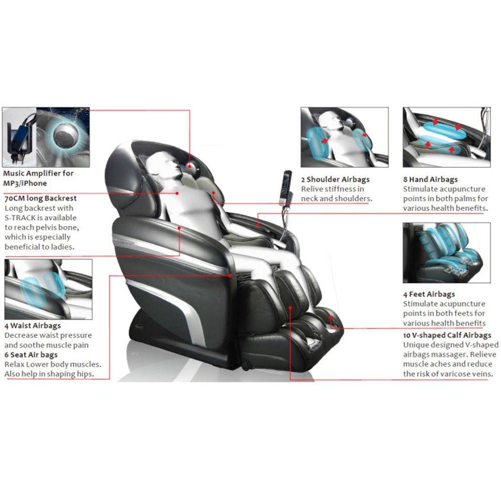 OSAKI OS 3D PRO DREAMER U2013 ZERO GRAVITY MASSAGE CHAIR   Massage Chairs