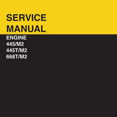 New Holland 445/M2, 445T/M2, 668T/M2 Engine Service Manual