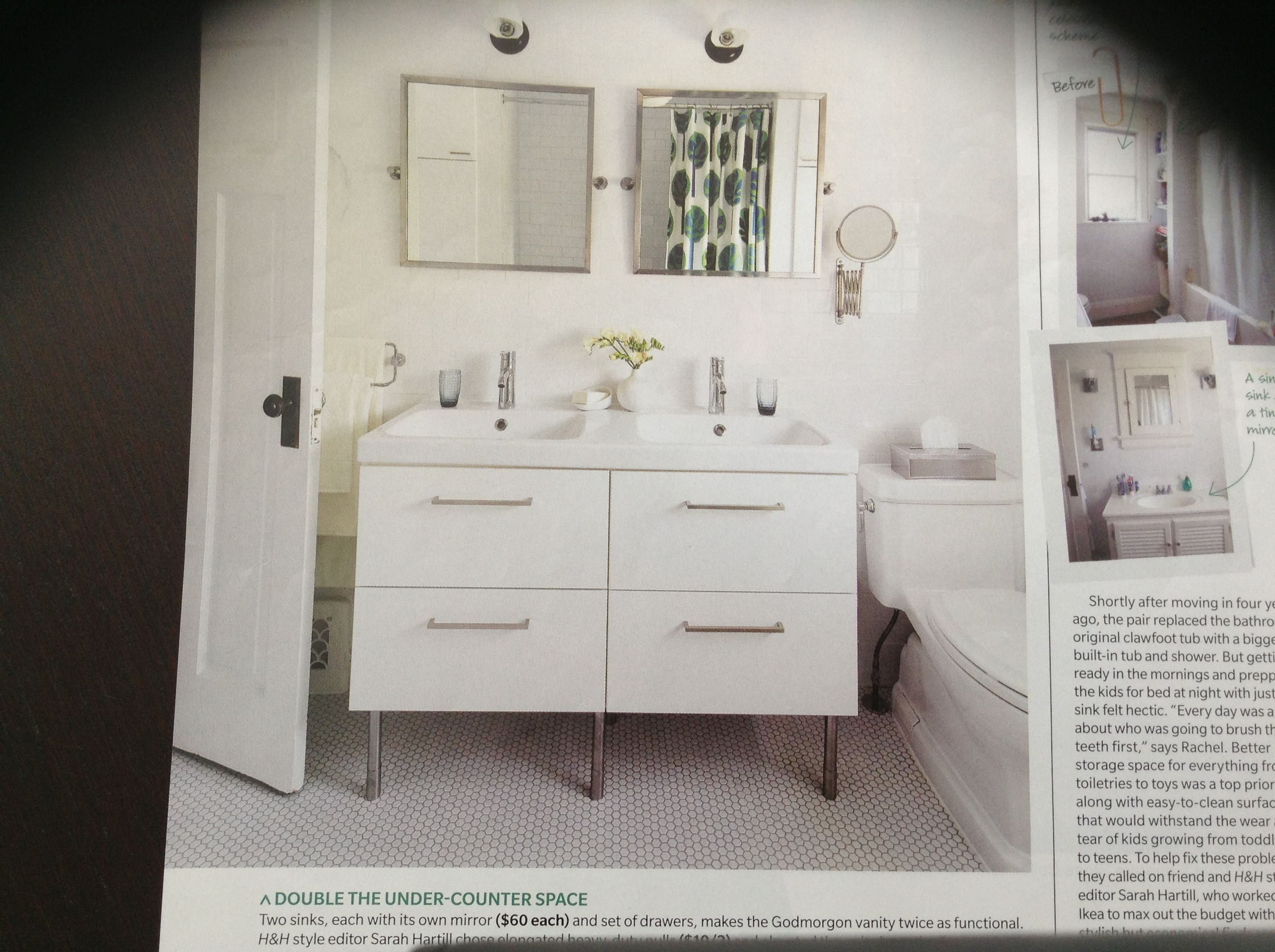 Godmorgan Vanity, Mirrors, Ikea Ikea Installation Services Use Hairpin Legs  Instead Of Shown