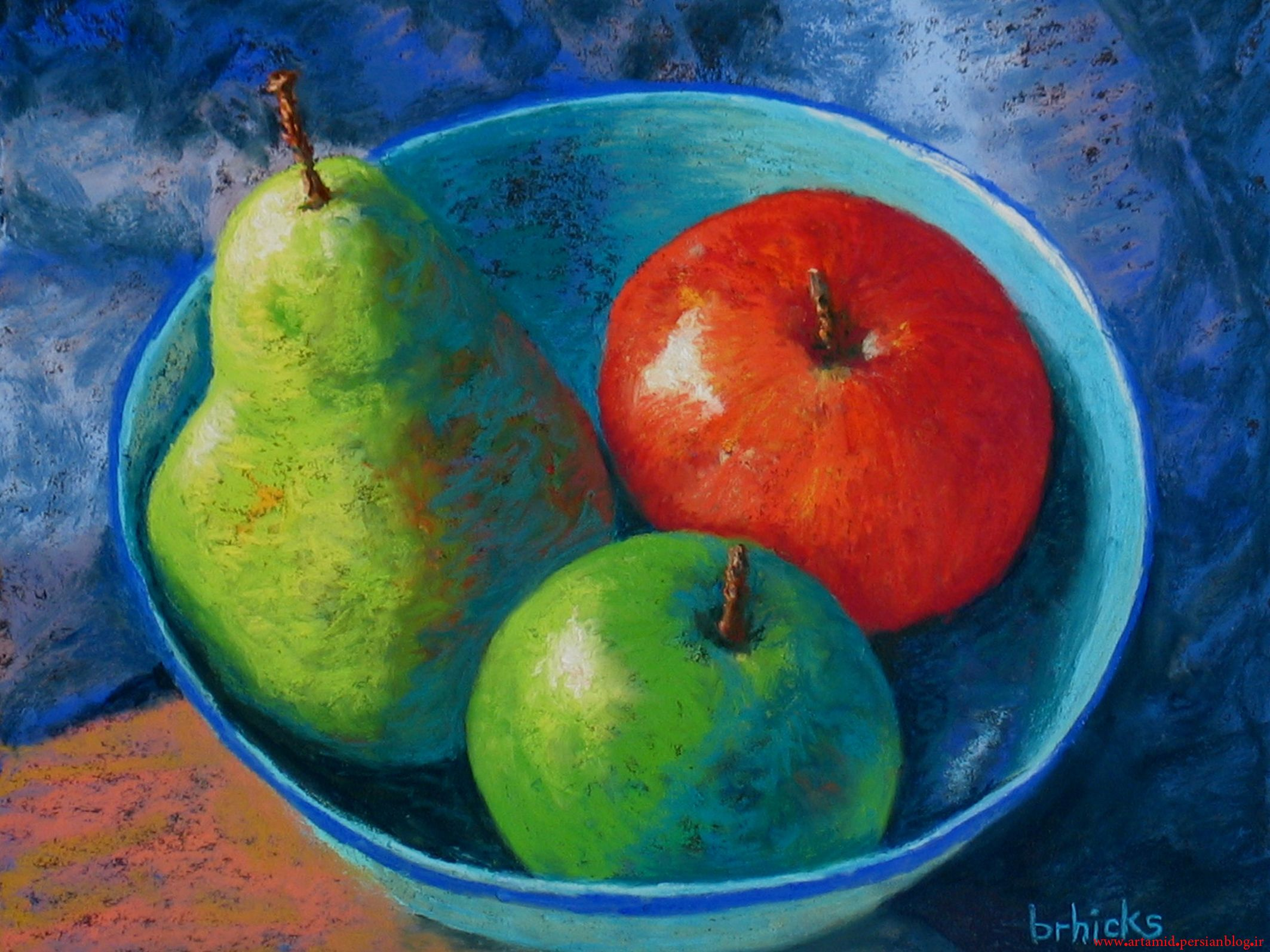 bowl of fruit painting famous - Google Search | craft ...