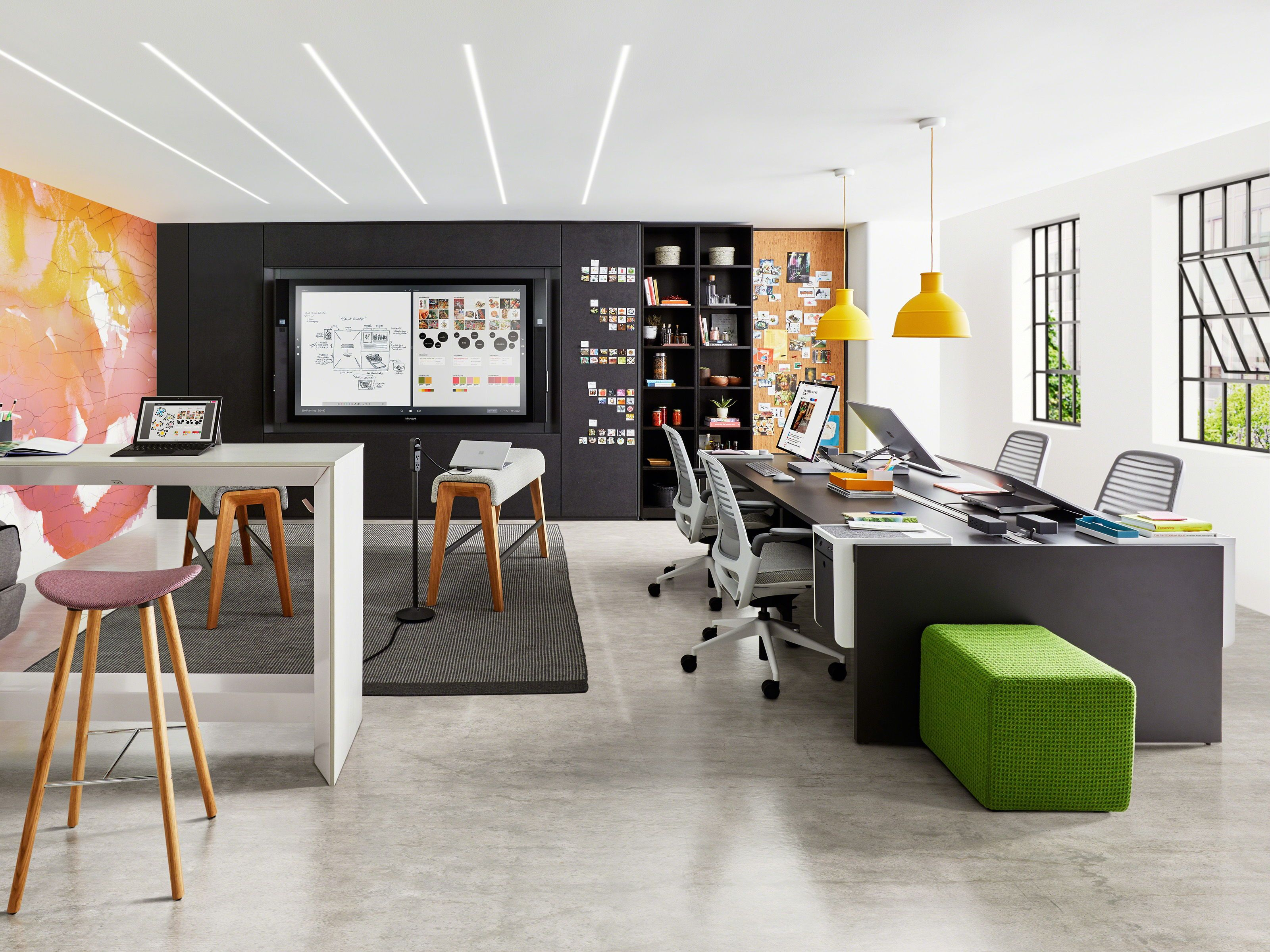 Our Staff Of Professional Workspace Planners Have The Imagination
