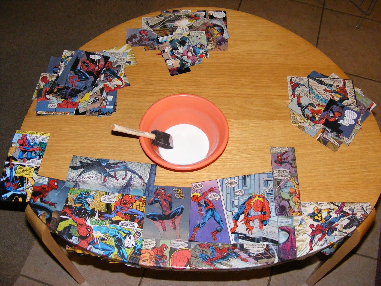 unique just like everyone else decoupage with comic books for rh pinterest com