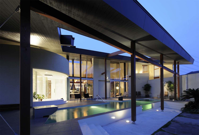 広大な敷地に建つリゾートハウス ハウス 住宅