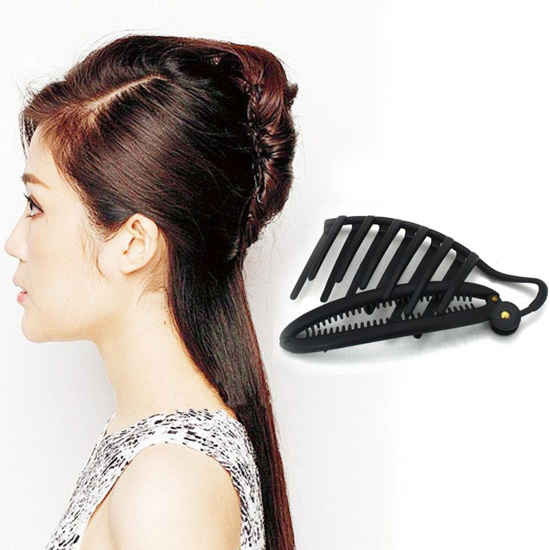 Women Magical Hair Disk Hair Accessories Quick Messy Updo Hairstyle Headwear Styling Tools A2 Long Hair Girl Fancy Hairstyles Womens Hairstyles