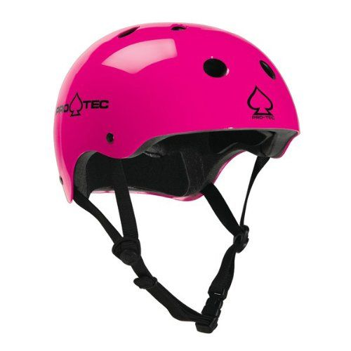 best loved fashion styles nice shoes Protec Classic Skate Gloss Skateboard Helmet Punk Pink ...