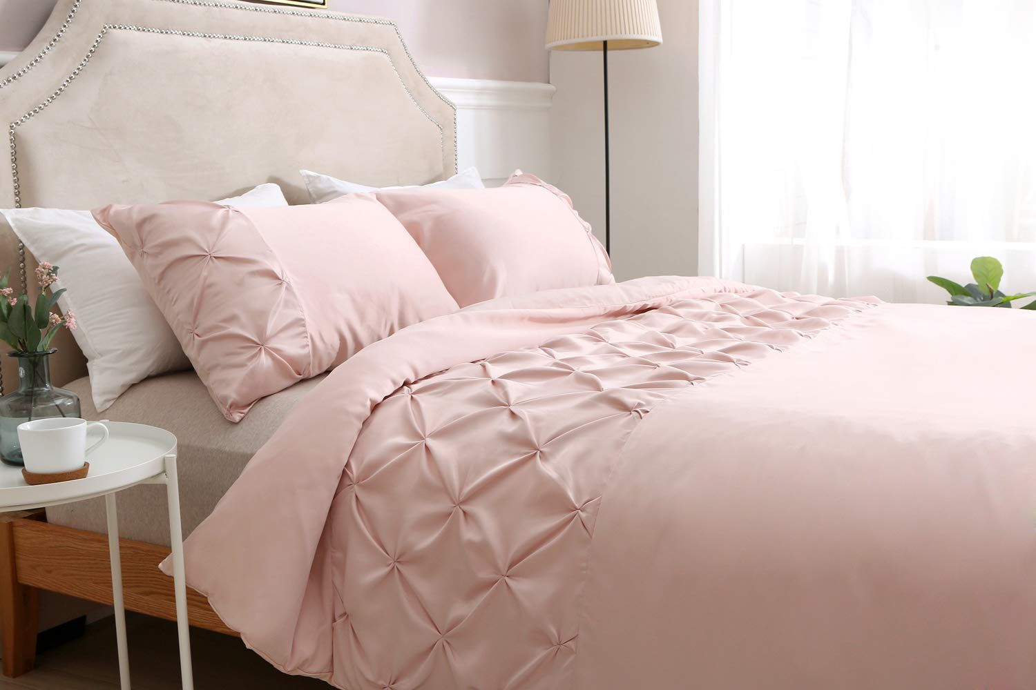 Finished In A Subtly Elegant Shade Of Blush Grey Cream And