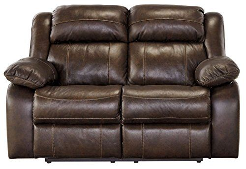 ashley furniture signature design branton reclining love seat rh pinterest com