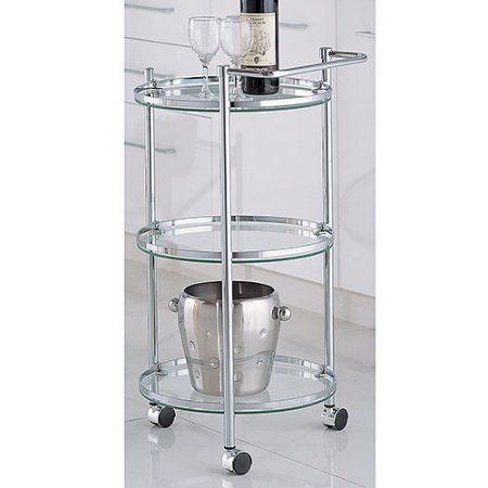 free shipping buy round serving cart at walmart com for the home rh pinterest com