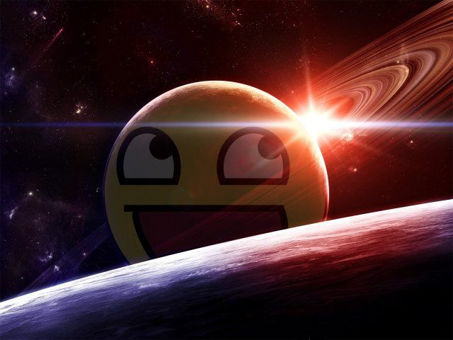 An Epic View Of An Epic Galaxy Cute Smiley Face Epic Pictures Awesome