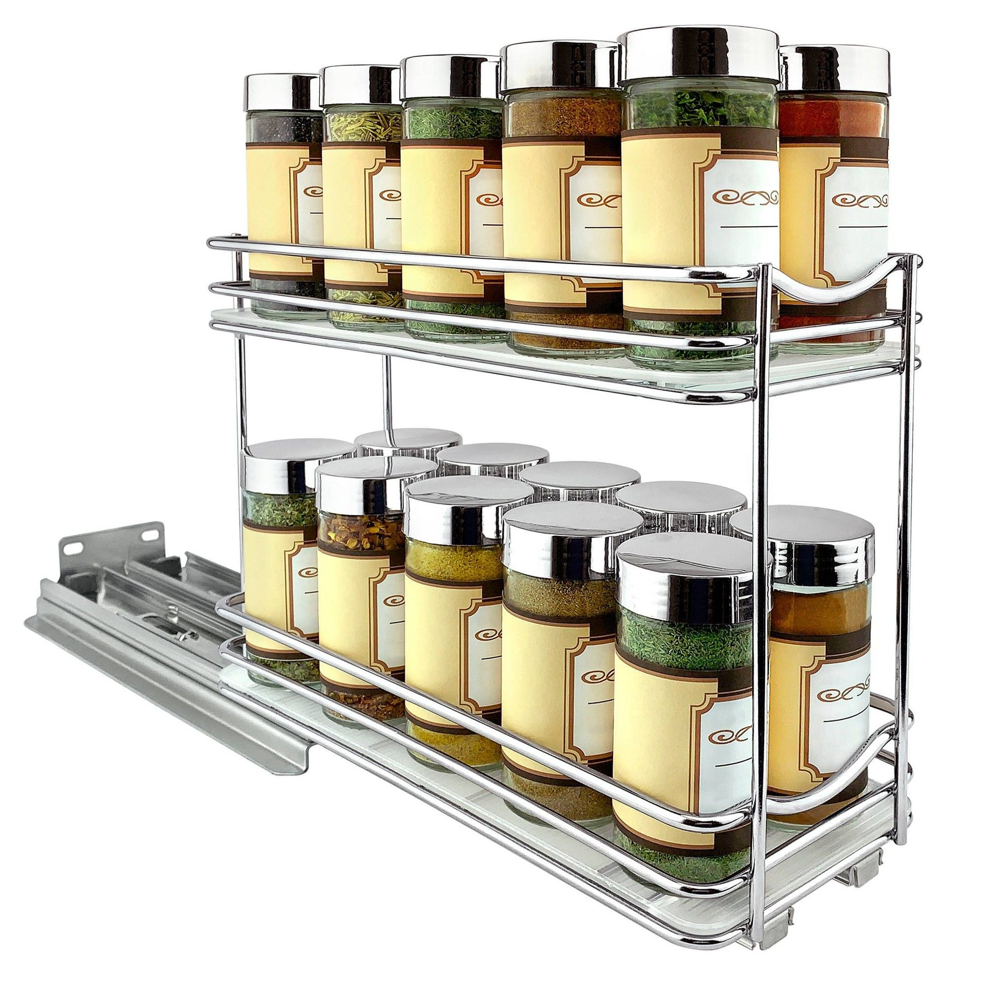 Best Lynk Professional Slide Out Double Spice Rack Upper 400 x 300