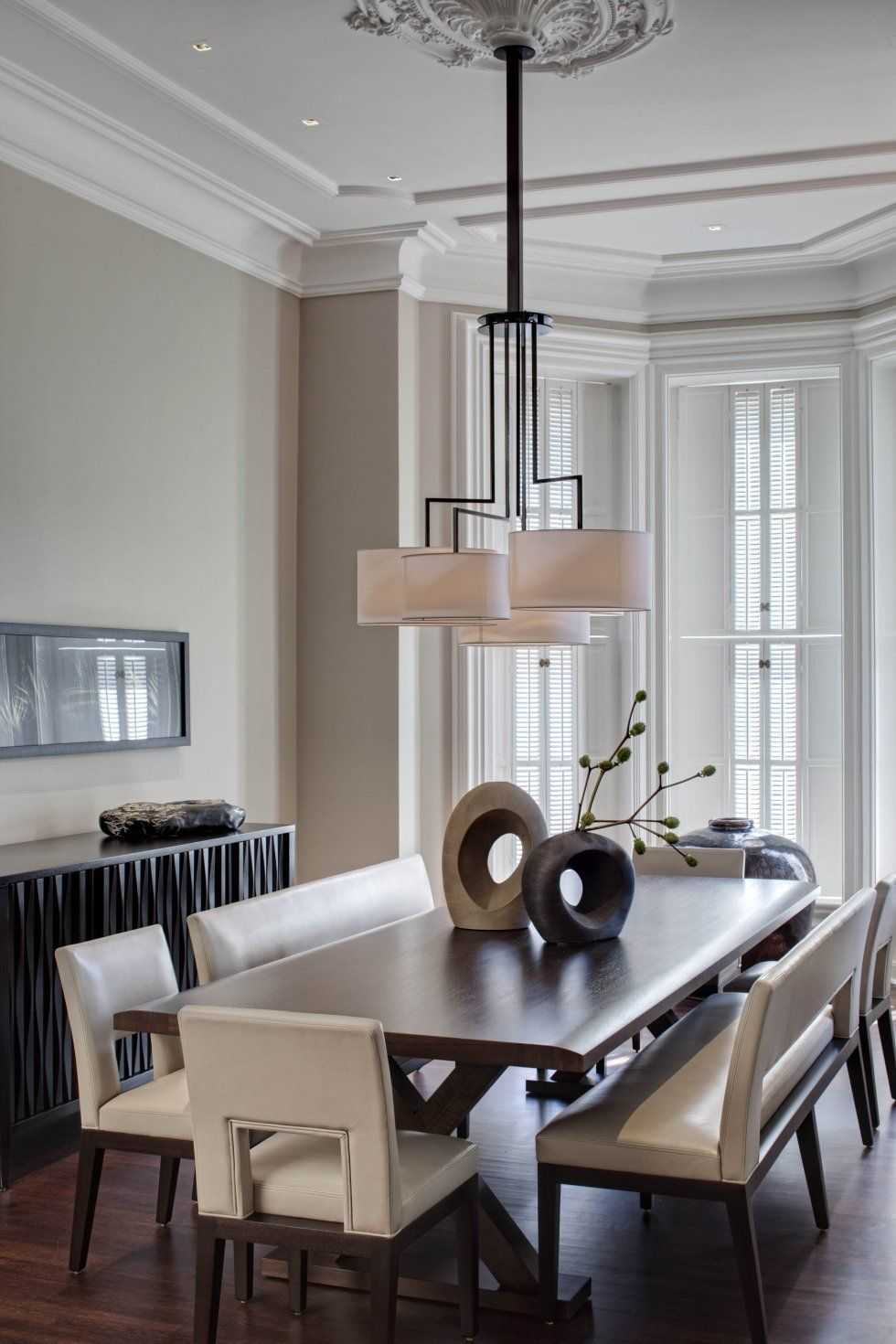 modern chairs for living room%0A   Dining Room Trends to Try