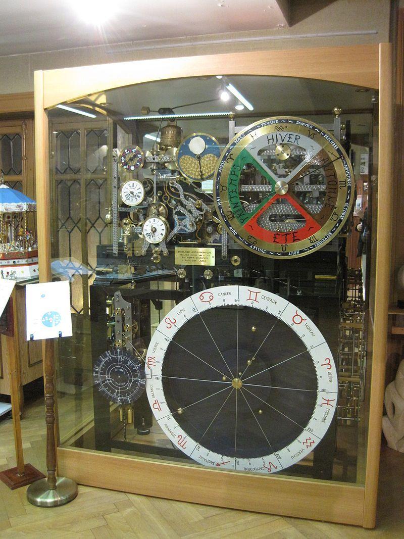 Musee Horlogerie Morteau Doubs Horloge Astronomique De 1990 Skeleton Clock Clock Tower Clock