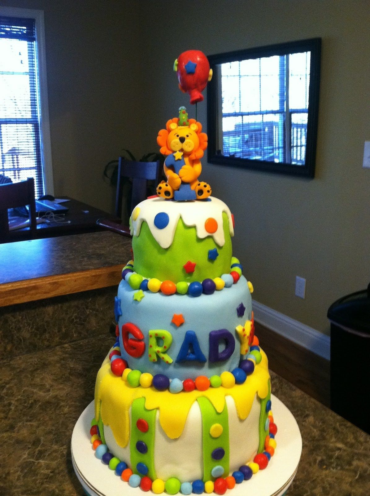 27 excellent image of baby boy first birthday cake boys