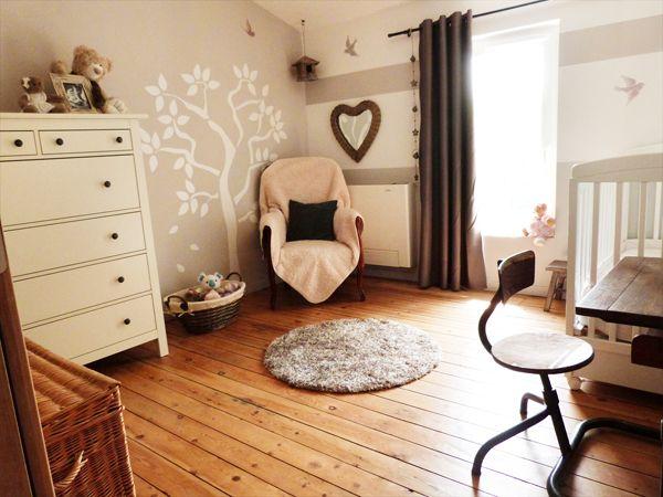 Déco mixte pour la chambre de la petite Alice Nursery, Bedrooms