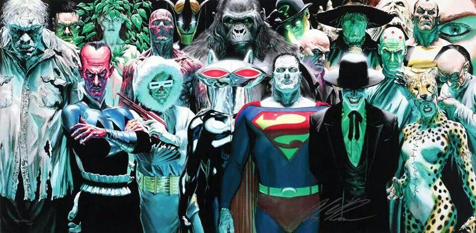 DC villanos