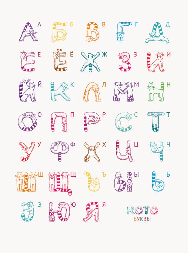 Happiness is Lettercats An Illustrated Cat Alphabet