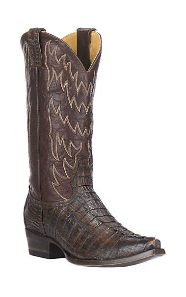 28293ea146a Lucchese Men's Black Ostrich Pin Punchy Toe Exotic Punchy Toe Boots ...