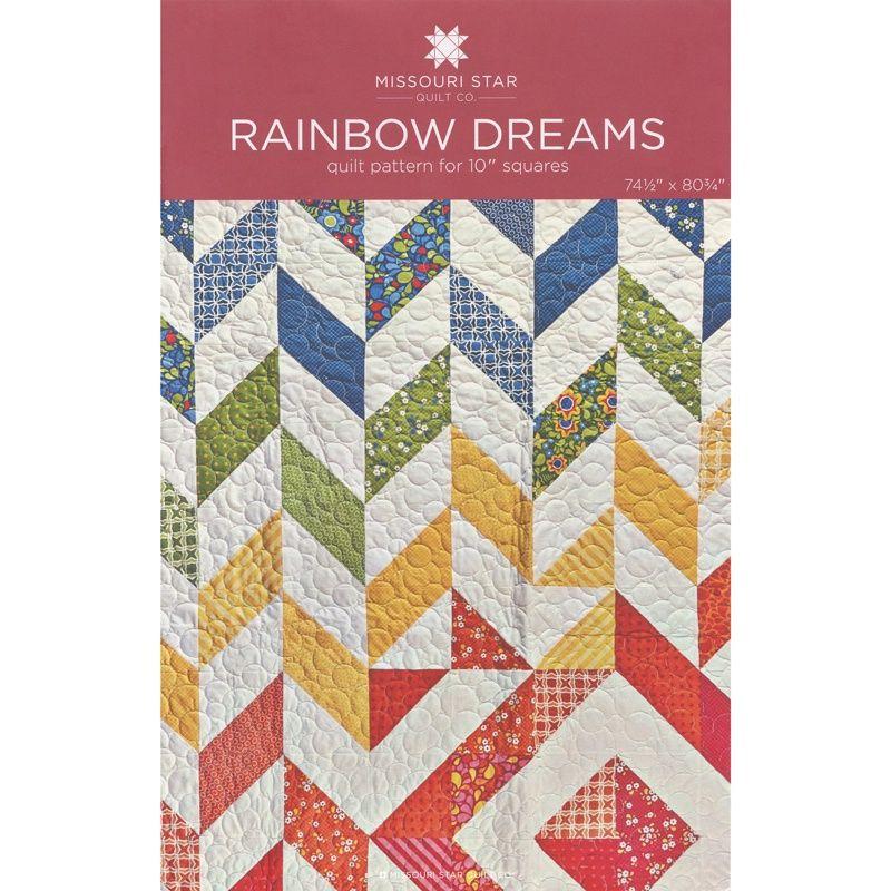 Rainbow Dreams Quilt Pattern by MSQC - MSQC - MSQC | quilting ... : rainbow quilt pattern - Adamdwight.com
