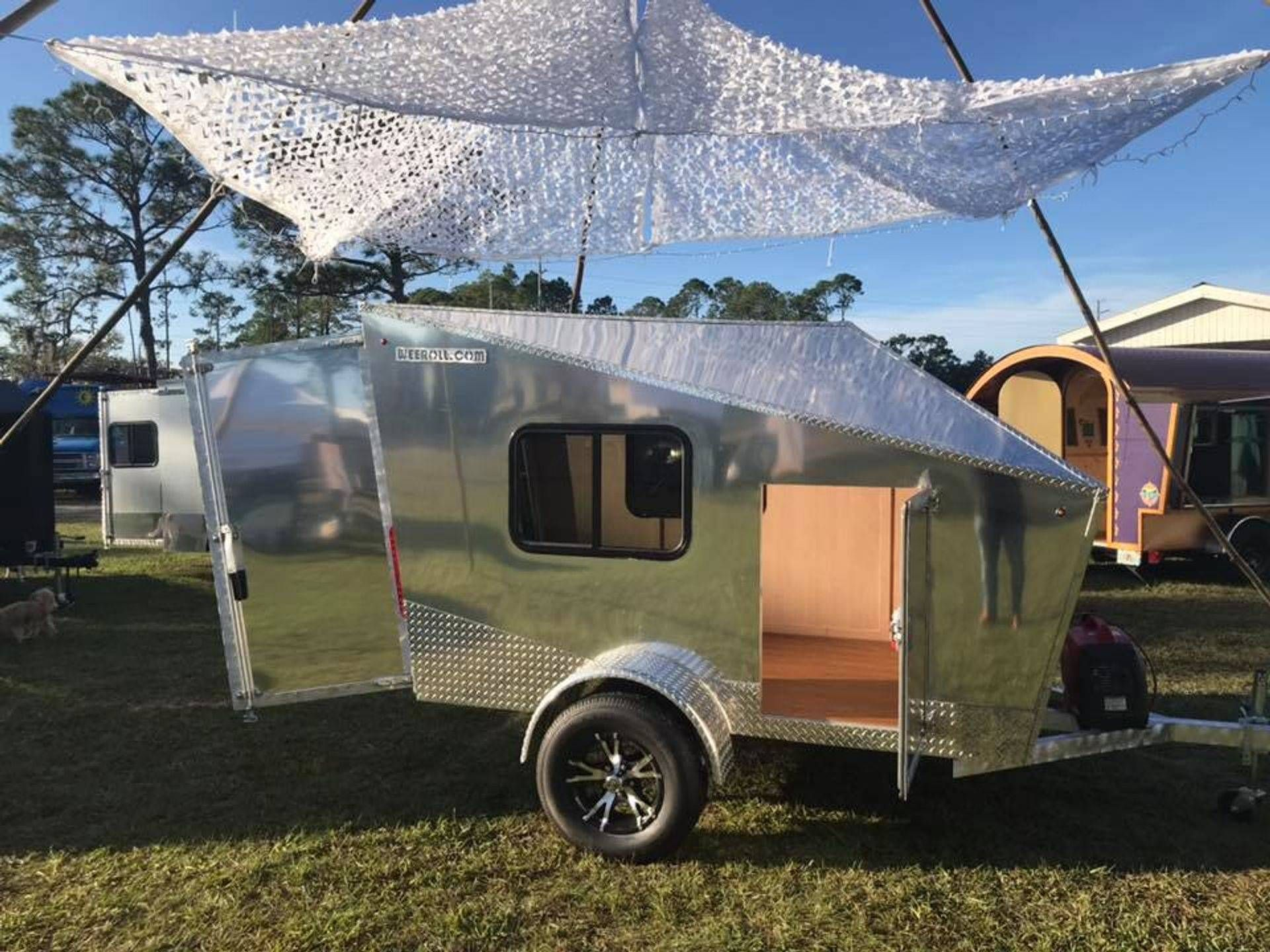 WEE ROLL - mini campers, small travel trailers, affordable ...