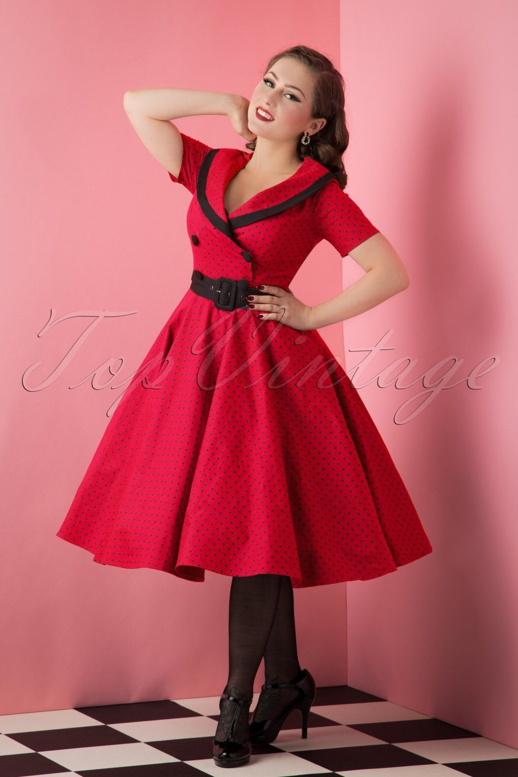 723d555dfe49 1950s Rockabilly Dresses