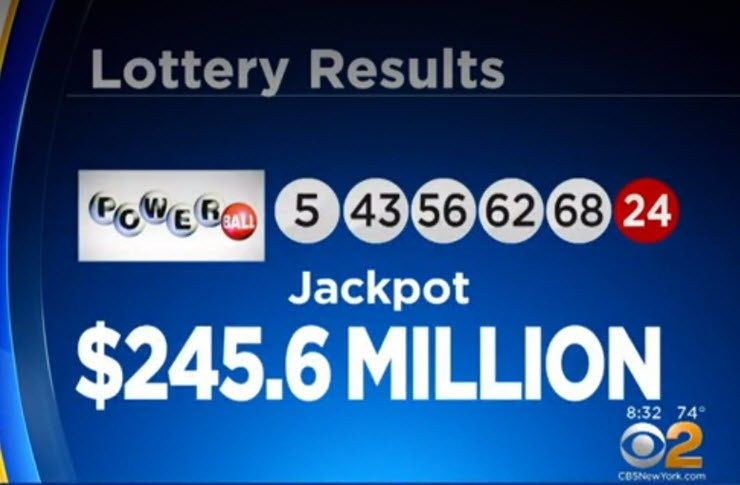 Powerball ticket sold in New York City wins 245 million