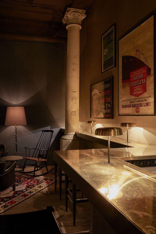 boilerman bar at 25hours hotel hamburg altes hafenamt. Black Bedroom Furniture Sets. Home Design Ideas