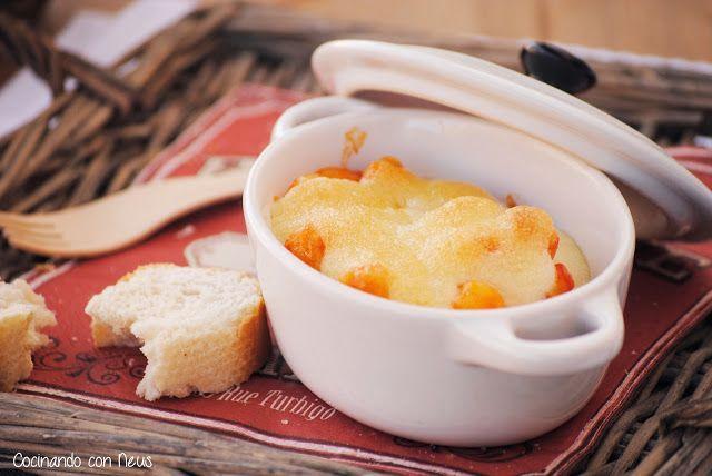 Cocinando con Neus: Garbanzos con sofrito de tomate y muselina de ajo