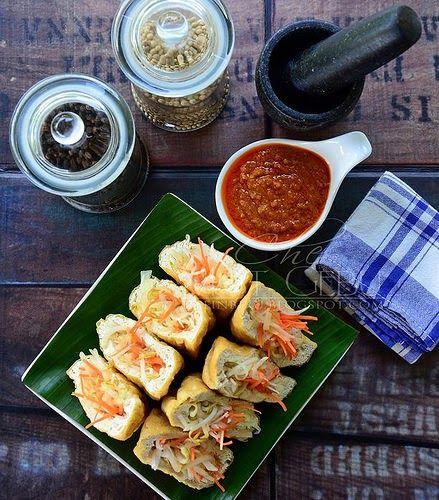 Kuah Kacang Utk Rojak Dan Tauhu Sumbat Kacang Masakan Resep