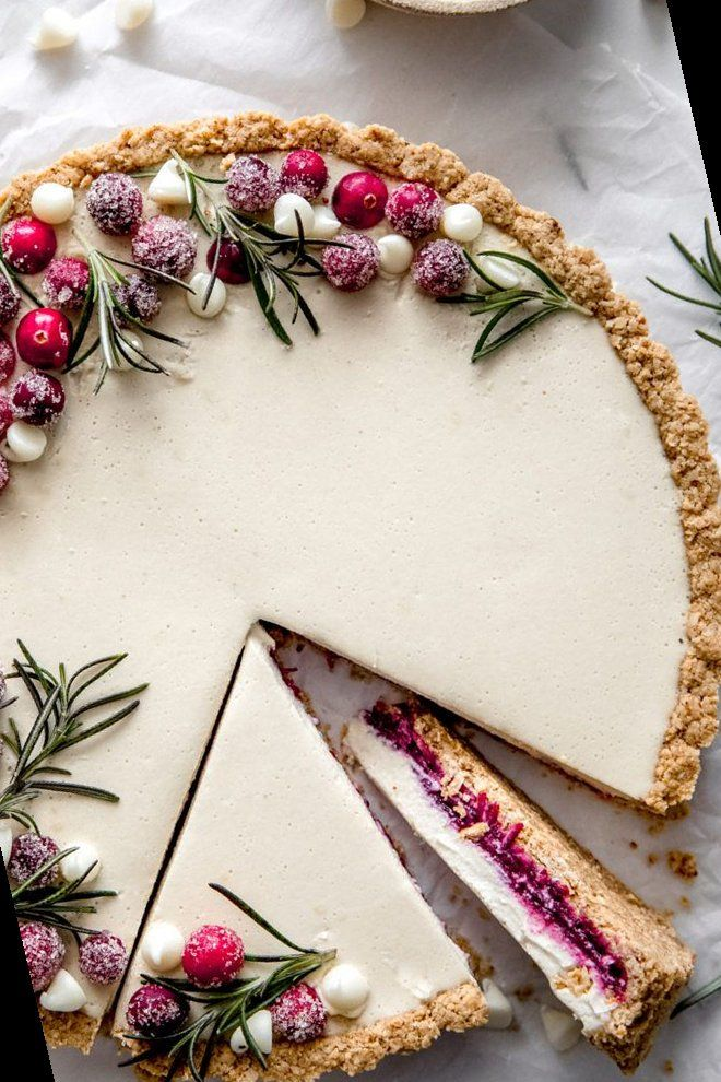 36+ Cranberry White Chocolate Tart | Christmas Cra