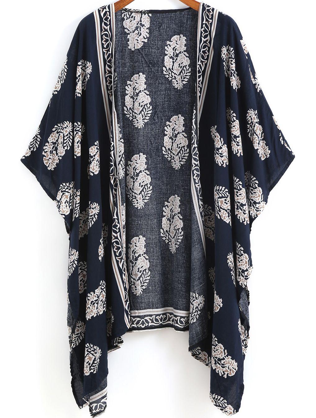 Pourquoi un kimono bleu