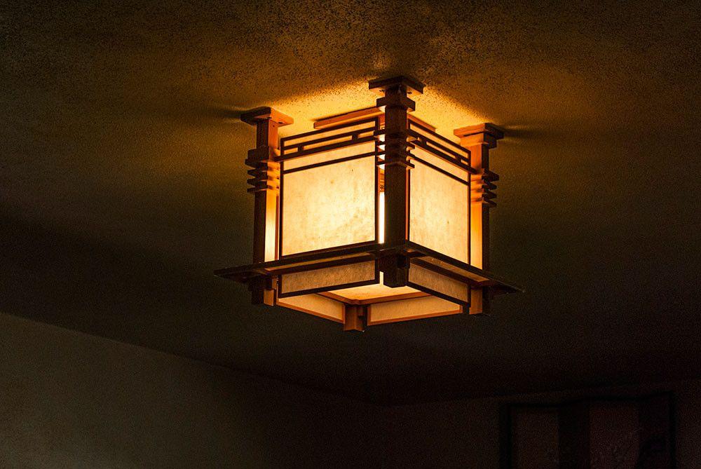 photo gallery frank lloyd wright s allen house fllw lighting rh pinterest ca