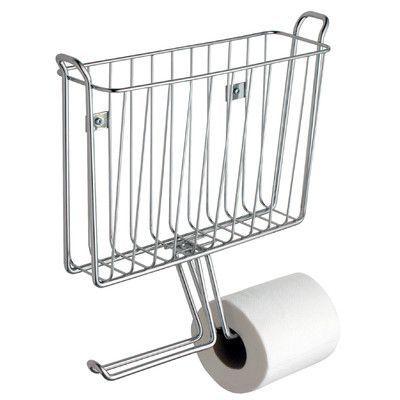 rebrilliant espana wall mounted magazine rack and toilet paper rh pinterest com