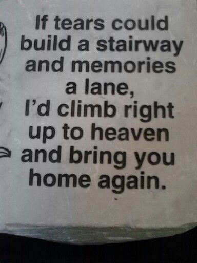 This Is For Grandma Mema Papa Jim Rip I Love And Miss You