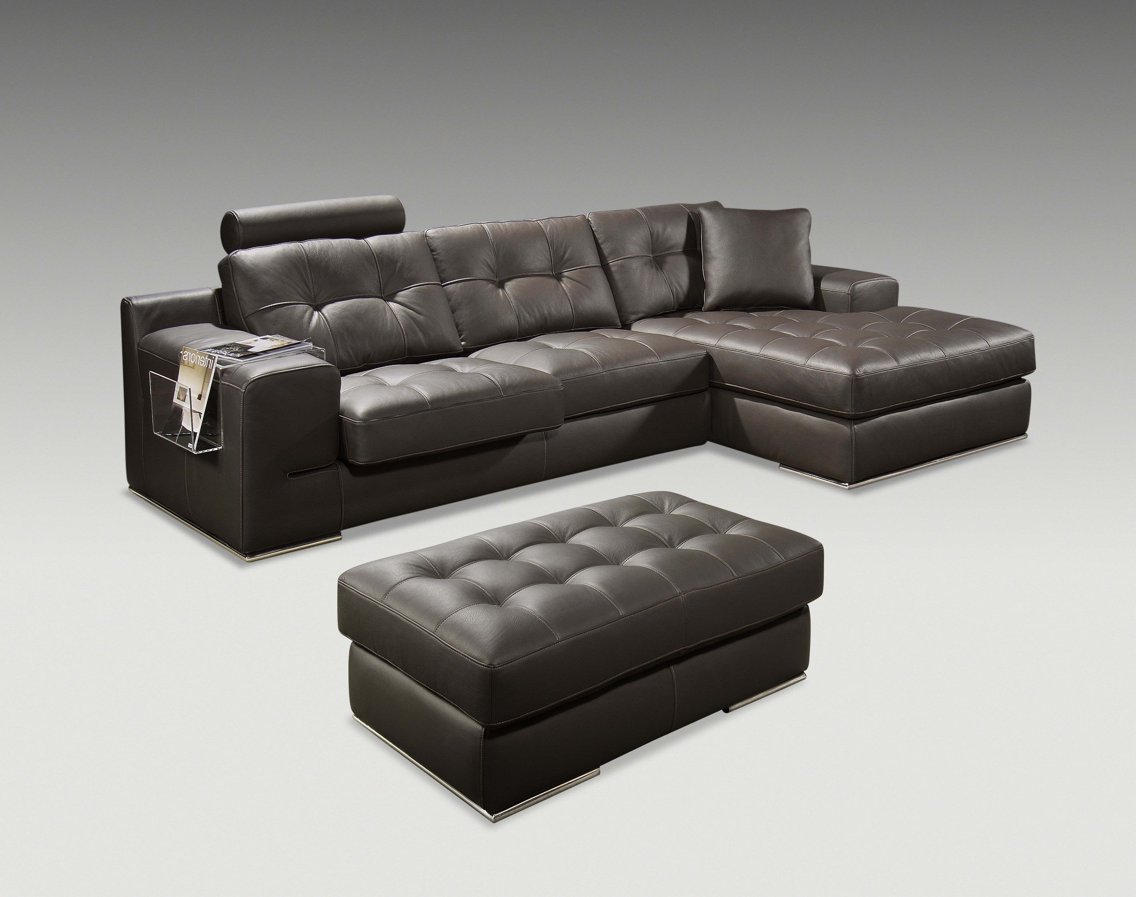 Fiori I Sectional and Ottoman by Kelvin Giormani