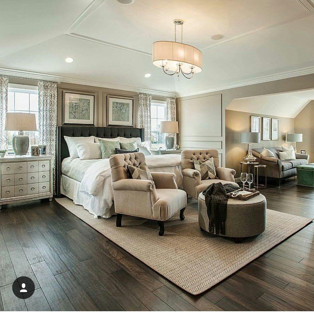 Master bedroom hardwood floors  Pin by Montie Montgomery on New House  Pinterest  Bedrooms Master
