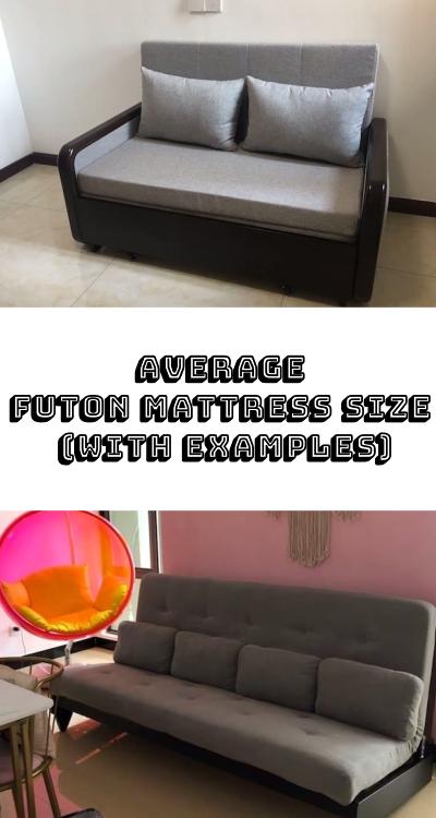 Average Futon Mattress Size With